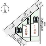 倉敷市西阿知町西原第6新築建売住宅 全2棟2,780~2,980万円