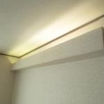 2階洋室8帖照明(リフォーム中)